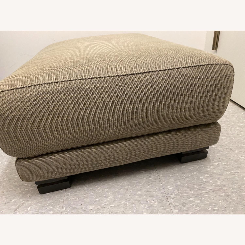 Natuzzi Arm Chair & Ottoman - image-2