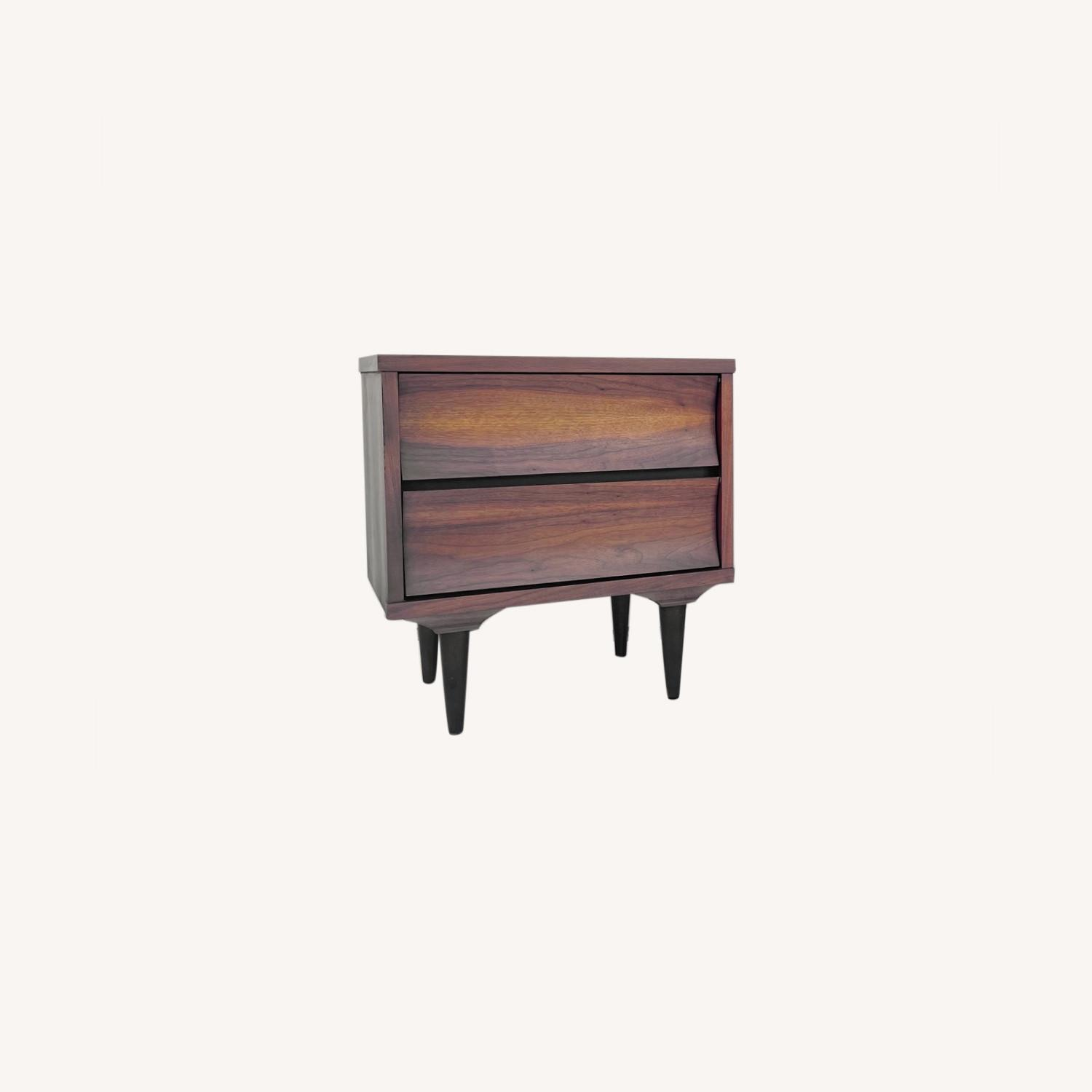 Mid-Century Nightstands-  a Pair - image-0