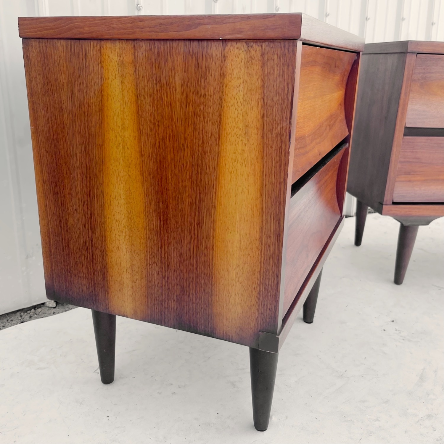 Mid-Century Nightstands-  a Pair - image-12