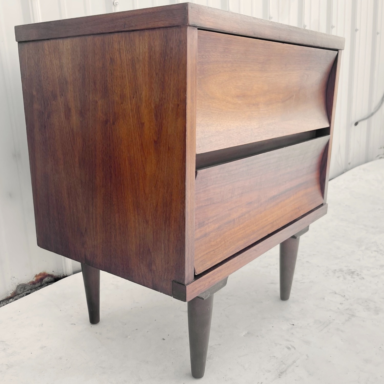 Mid-Century Nightstands-  a Pair - image-14