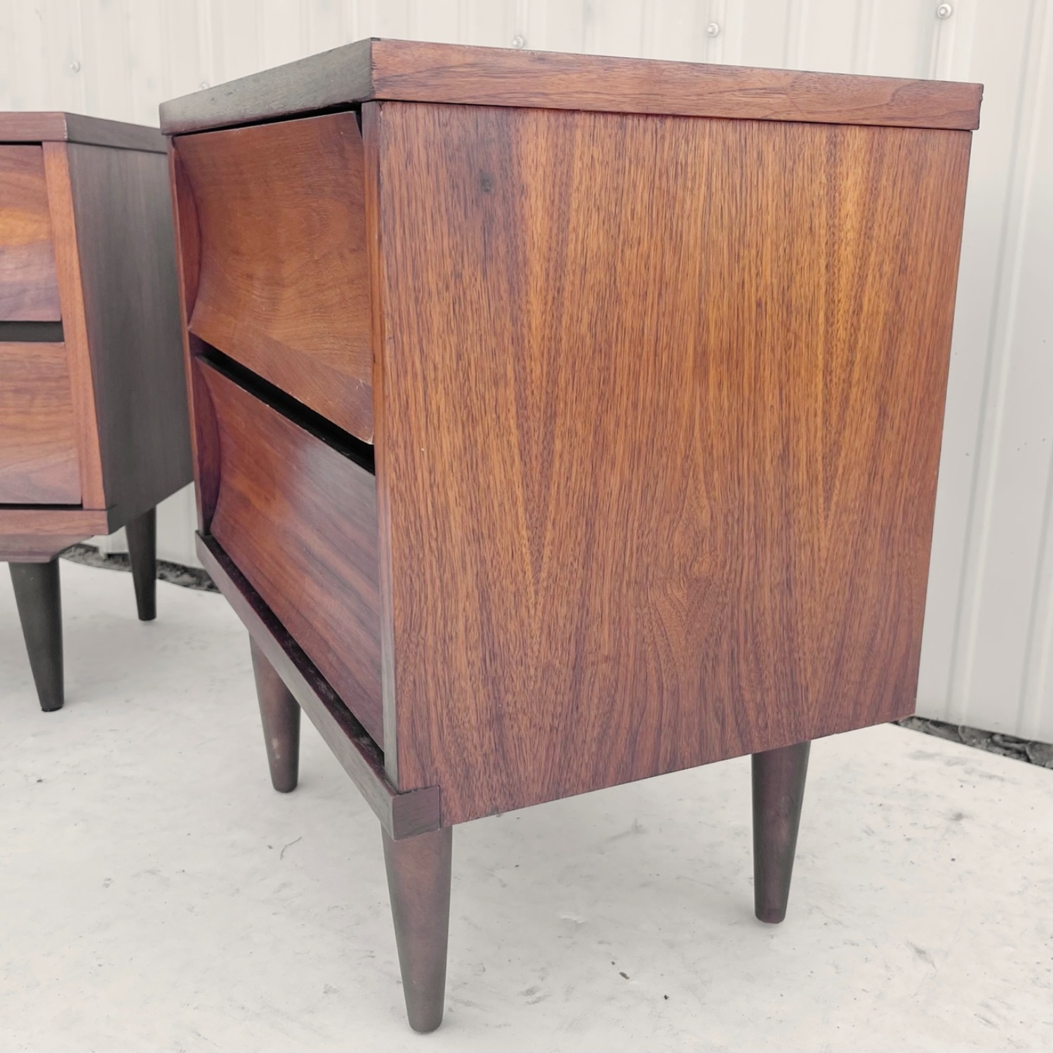 Mid-Century Nightstands-  a Pair - image-5