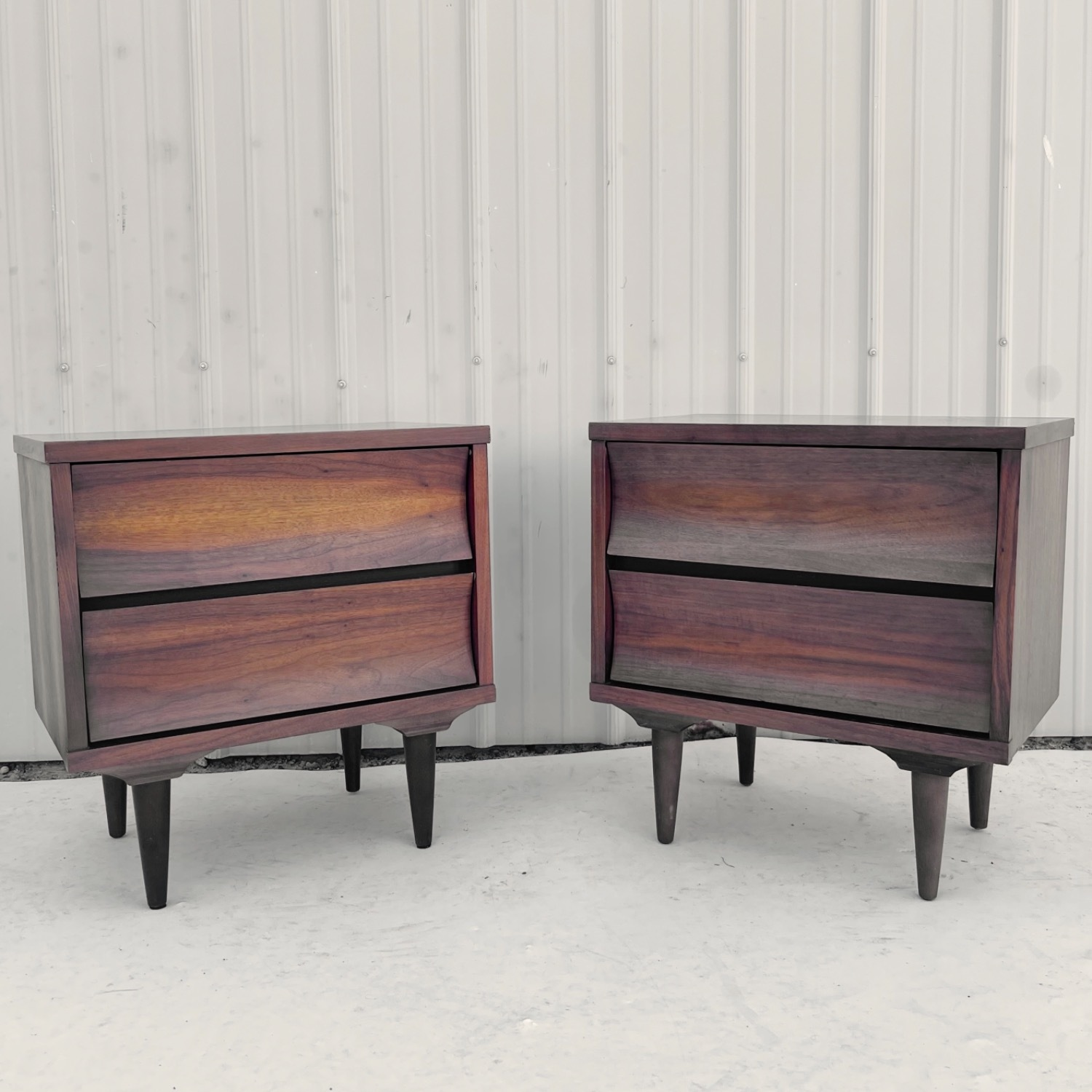 Mid-Century Nightstands-  a Pair - image-13
