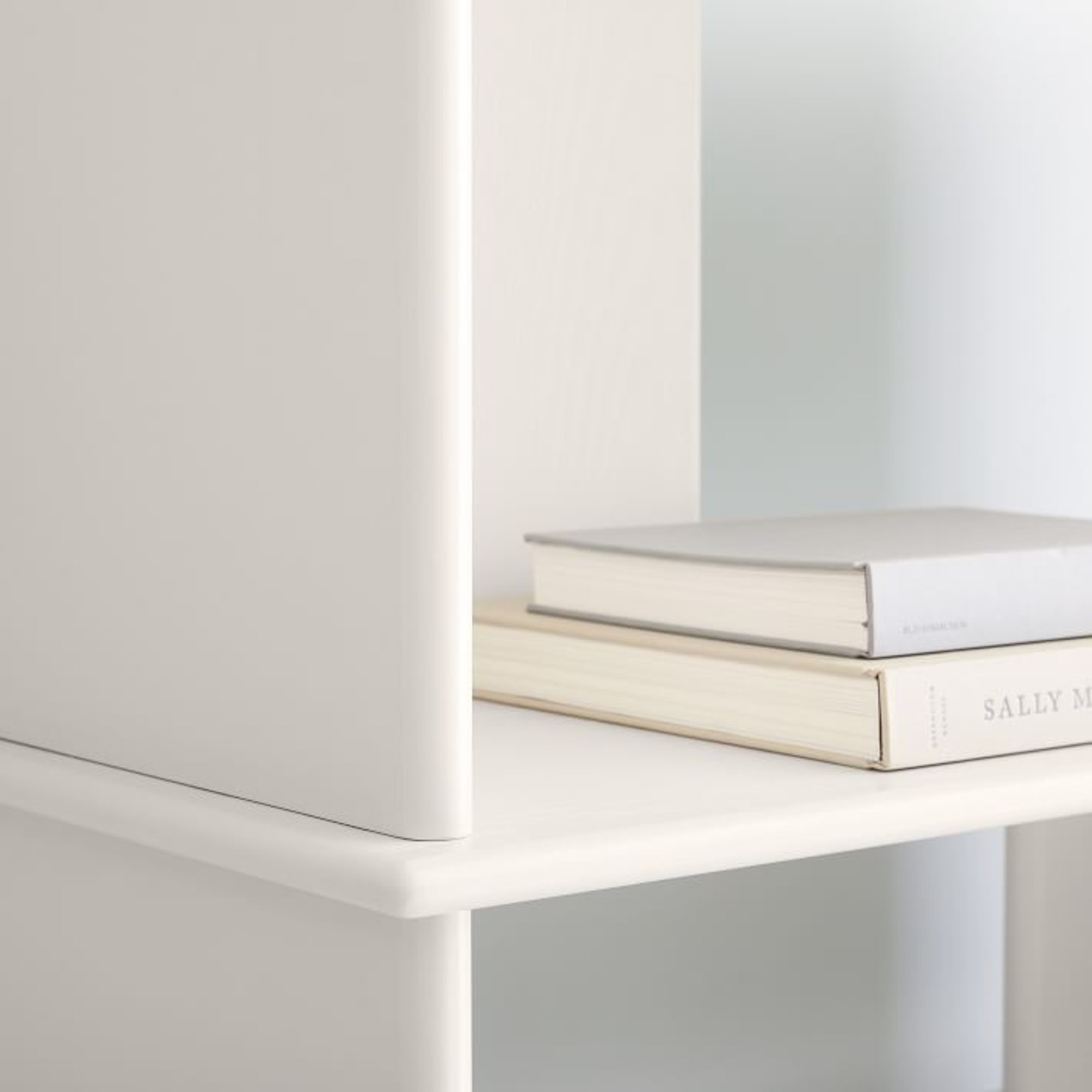 West Elm Kaira Wide Bookcase - Oyster - image-3