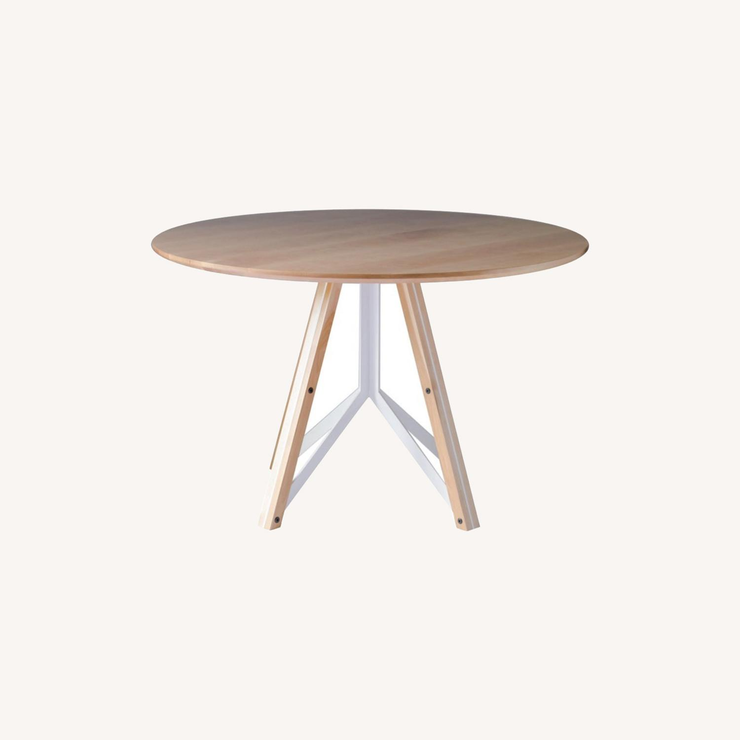 Birch Wood Round Dining Table 60 - image-0