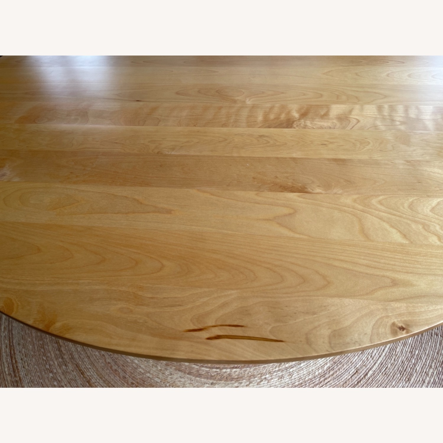 Birch Wood Round Dining Table 60 - image-6