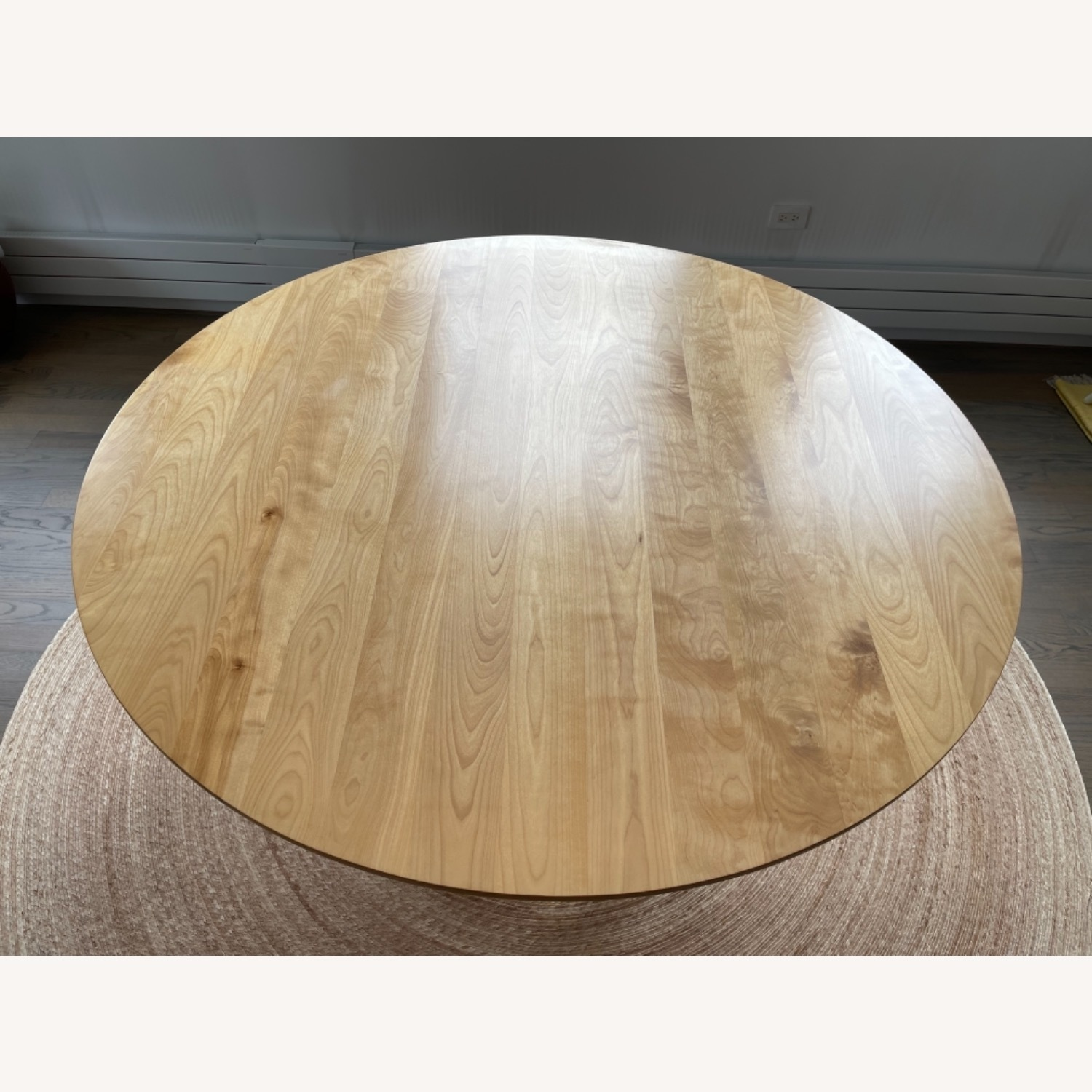Birch Wood Round Dining Table 60 - image-8