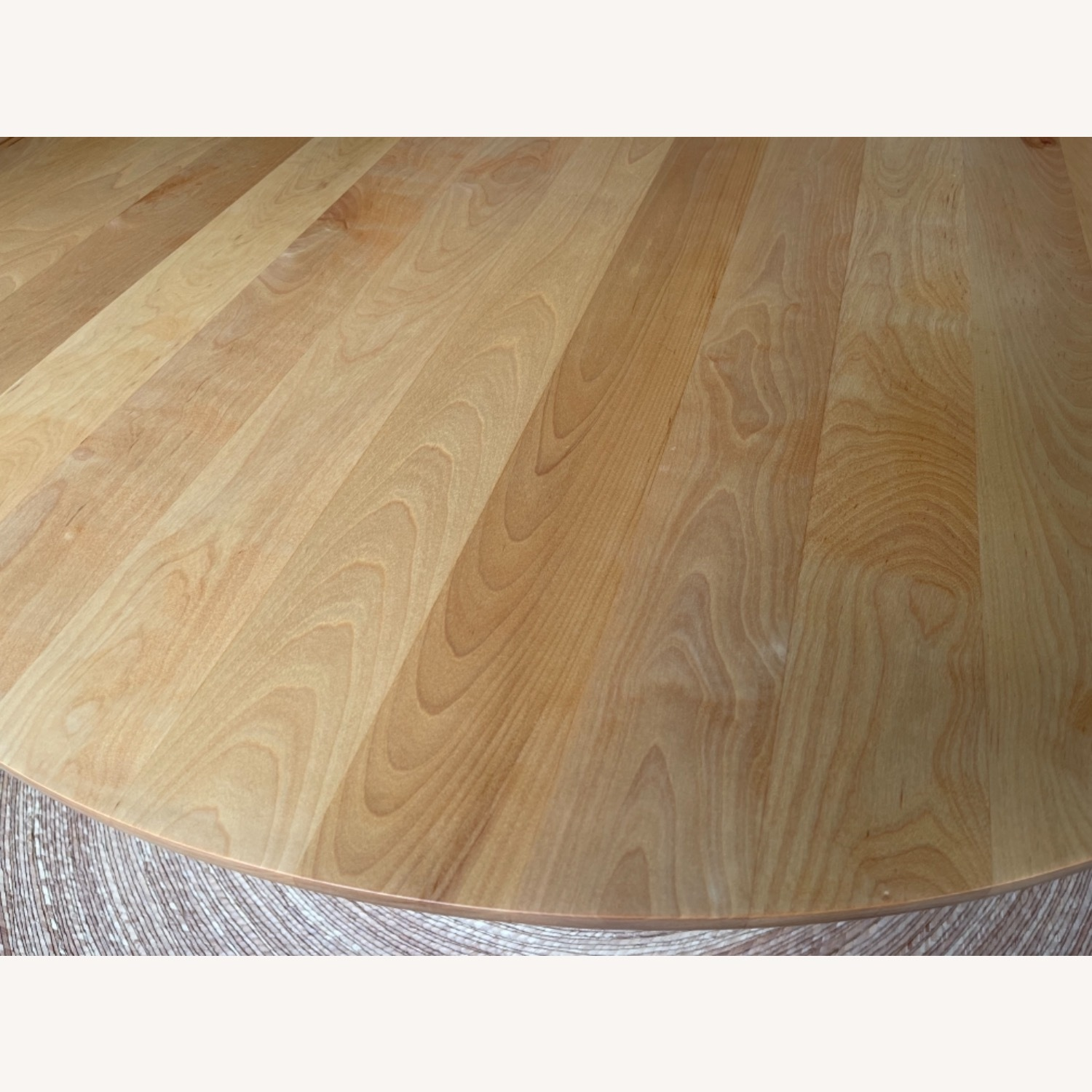Birch Wood Round Dining Table 60 - image-7