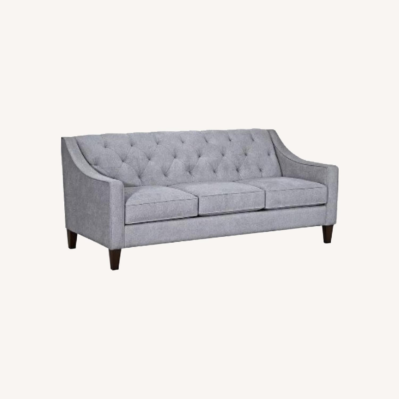 "Macy's Chloe II 76"" Fabric Sofa - image-0"