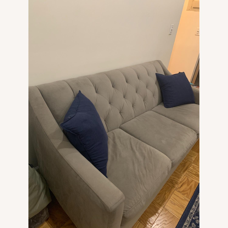 "Macy's Chloe II 76"" Fabric Sofa - image-2"