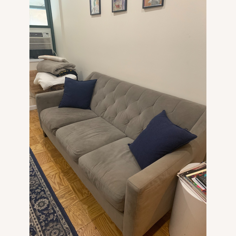 "Macy's Chloe II 76"" Fabric Sofa - image-3"