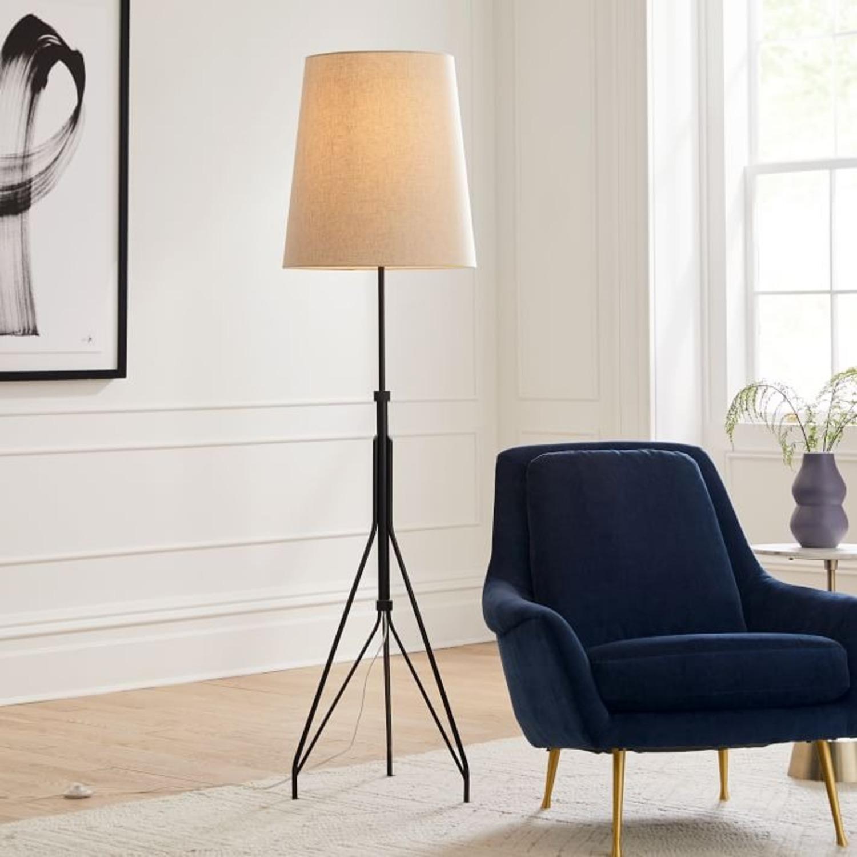 West Elm Eiffel Adjustable Floor Lamp - image-3