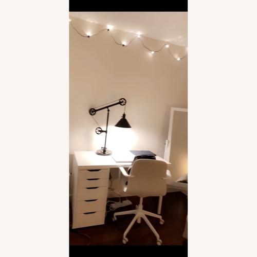 Used IKEA Alex Sleek Home Office Desk for sale on AptDeco