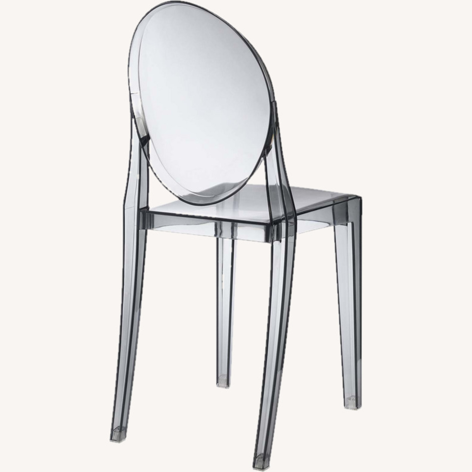 Modway Casper Ghost Dining Chair in Smoke (Set of 4) - image-2