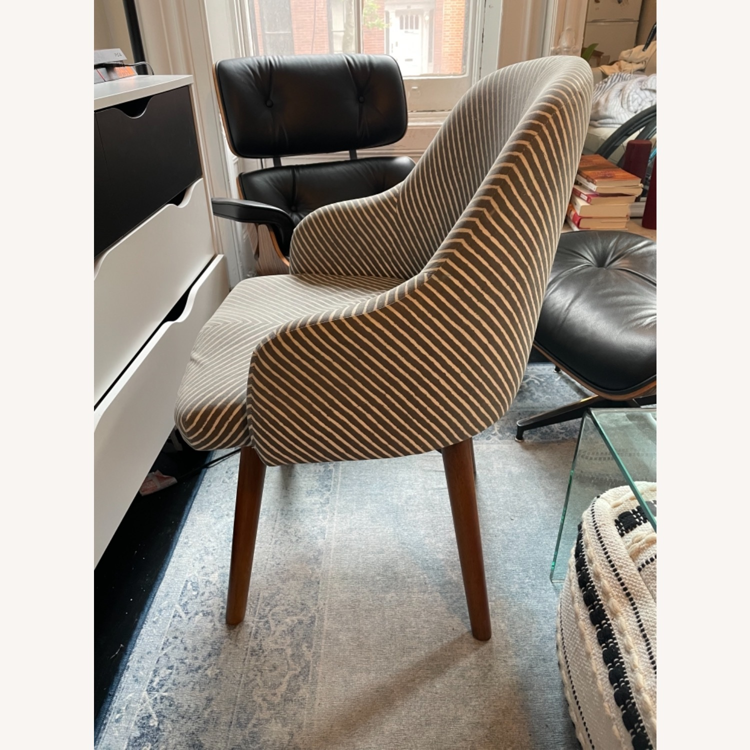 West Elm Havenly Saddle Swivel Chair - image-2