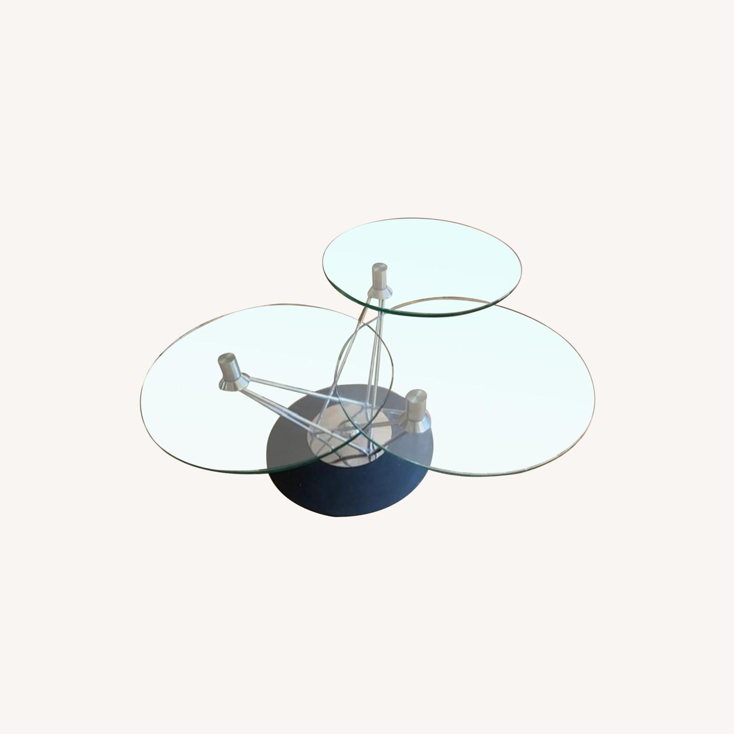 Steuben Glass Tempered Designer Collection Coffee Table - image-0