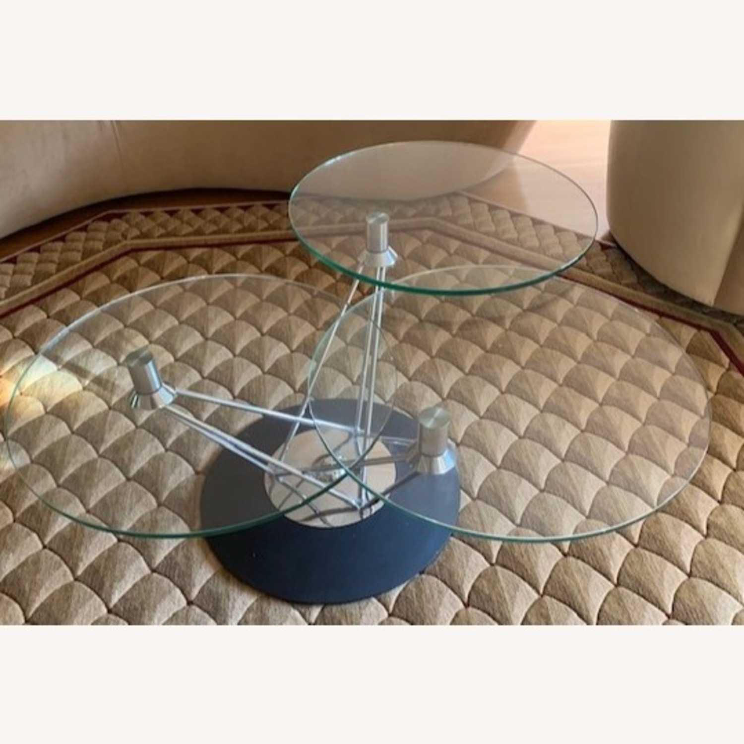 Steuben Glass Tempered Designer Collection Coffee Table - image-2