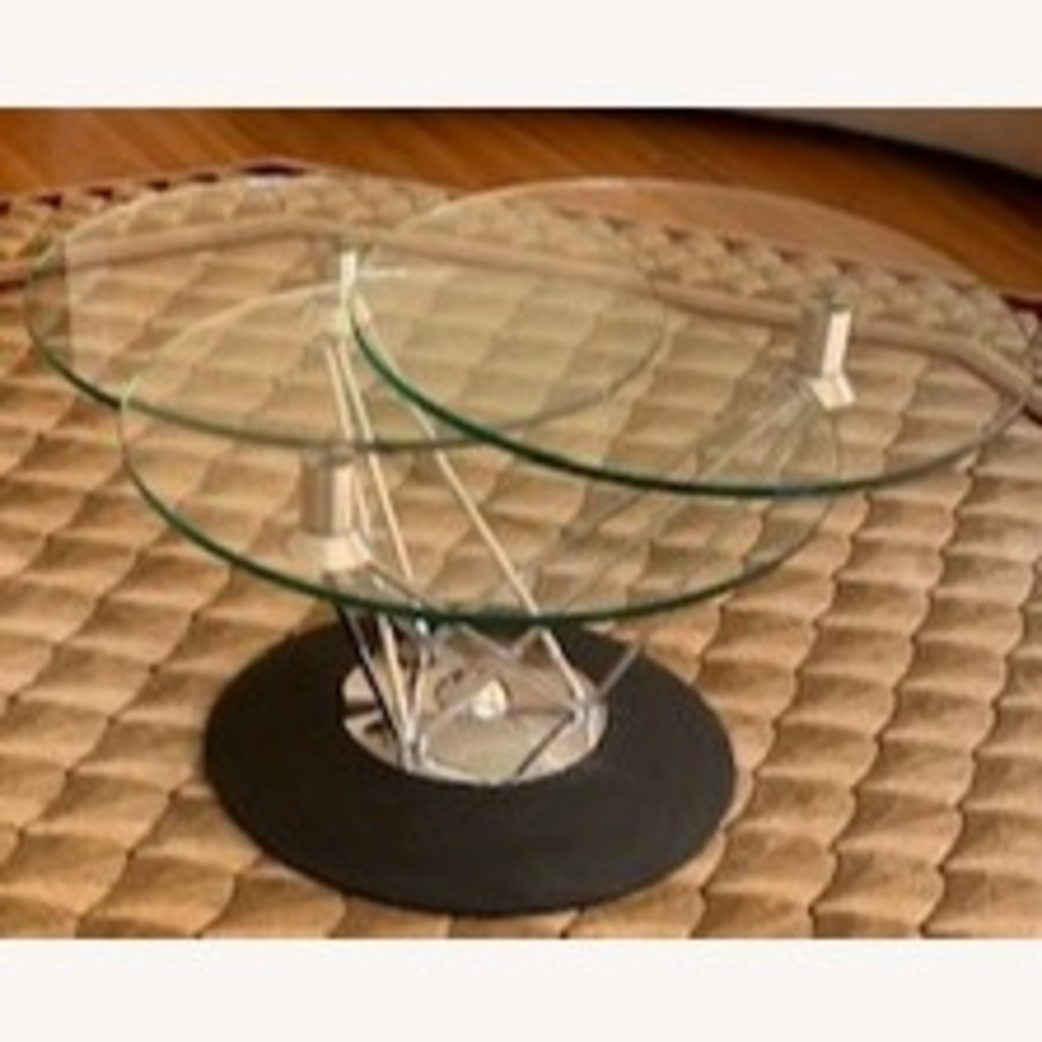 Steuben Glass Tempered Designer Collection Coffee Table - image-3