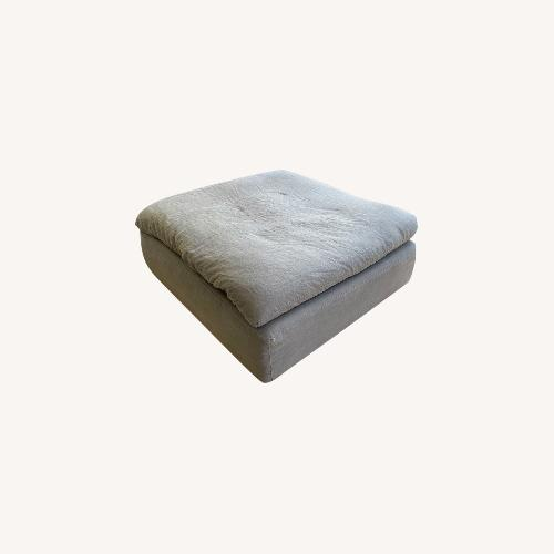 Used Restoration Hardware Cloud End Sectional Ottoman for sale on AptDeco