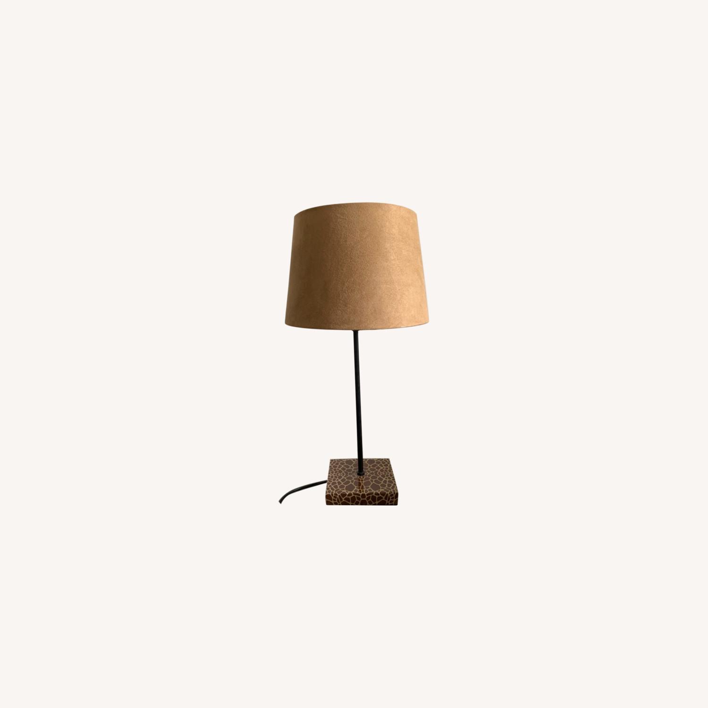 World Market Giraffe Table Lamp - image-0