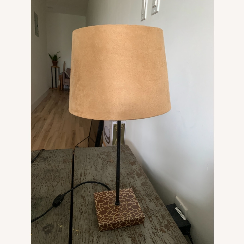 World Market Giraffe Table Lamp - image-4
