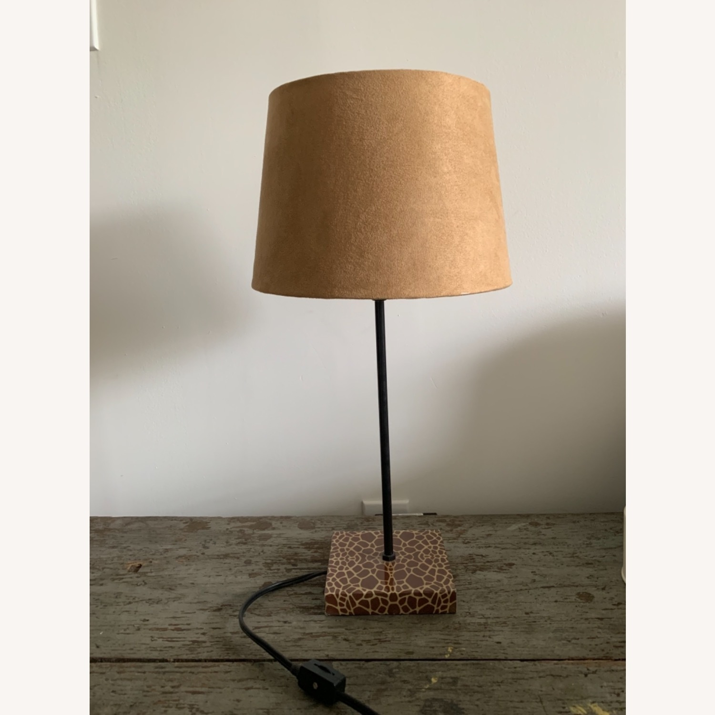 World Market Giraffe Table Lamp - image-1