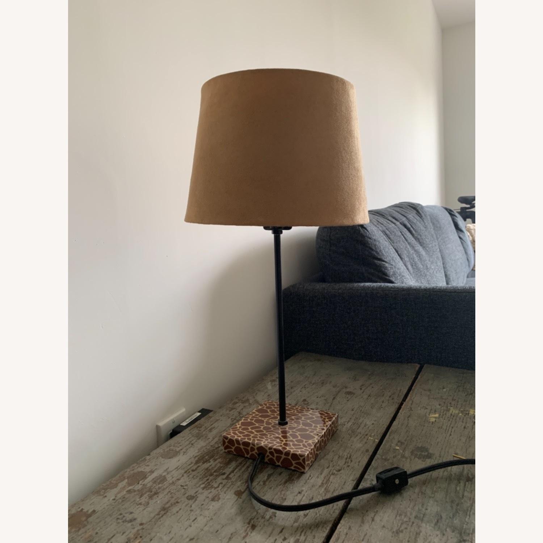 World Market Giraffe Table Lamp - image-2