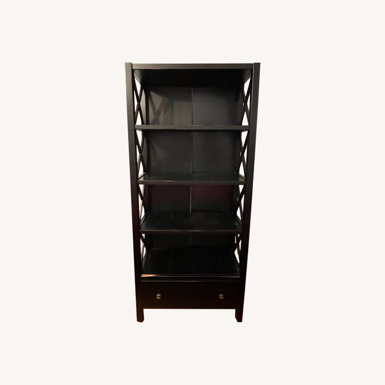 Joss & Main Black Ophelia Bookcase - image-0
