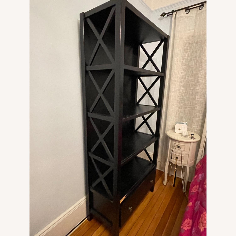 Joss & Main Black Ophelia Bookcase - image-3
