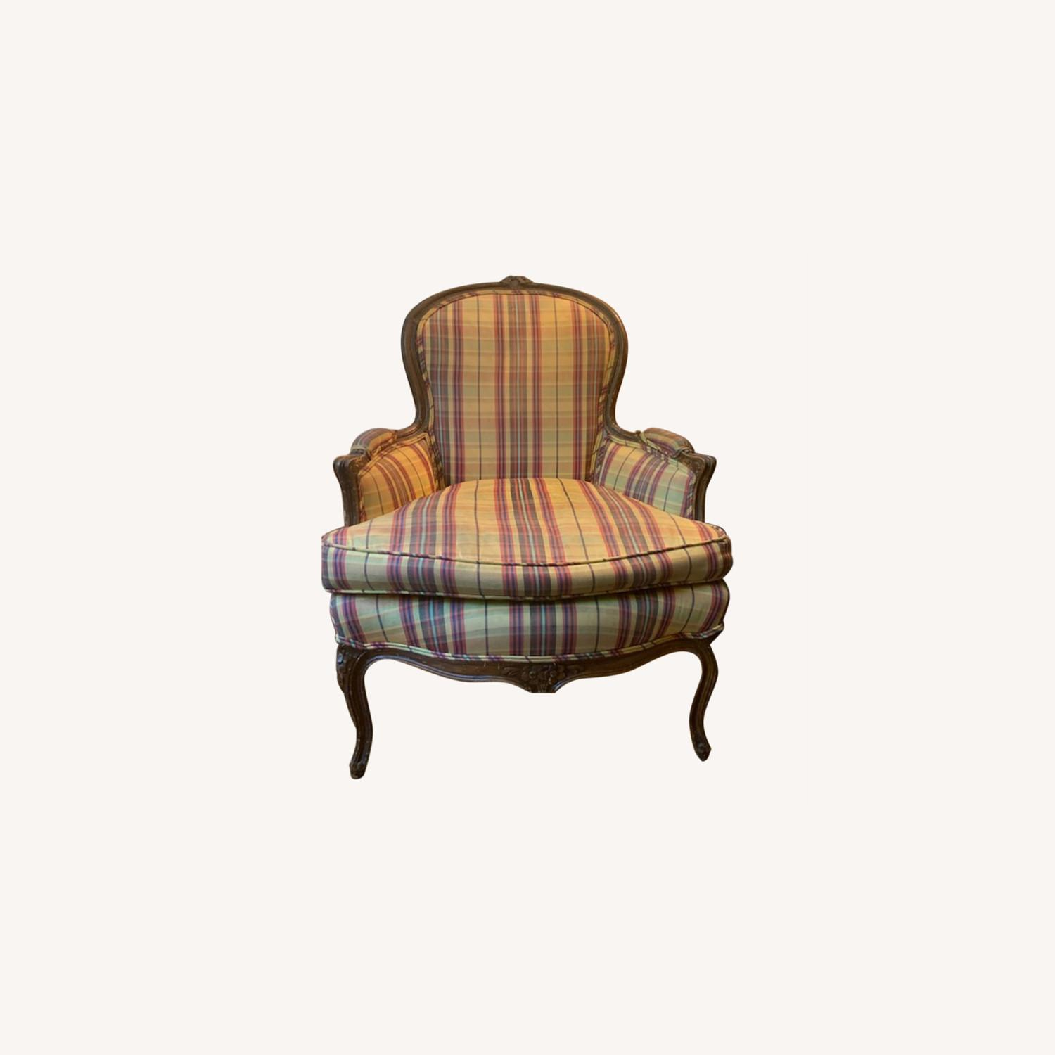 Louis XV Antique set of Bergere Chairs - image-0