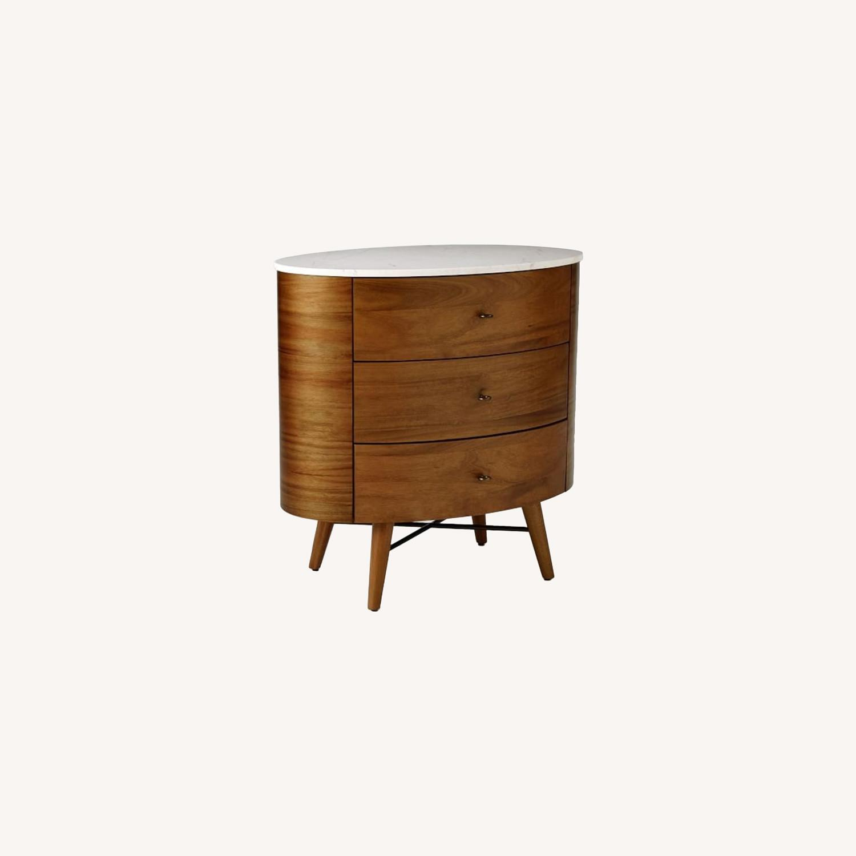 West Elm Penelope Nightstand, 3-Dresser - image-0