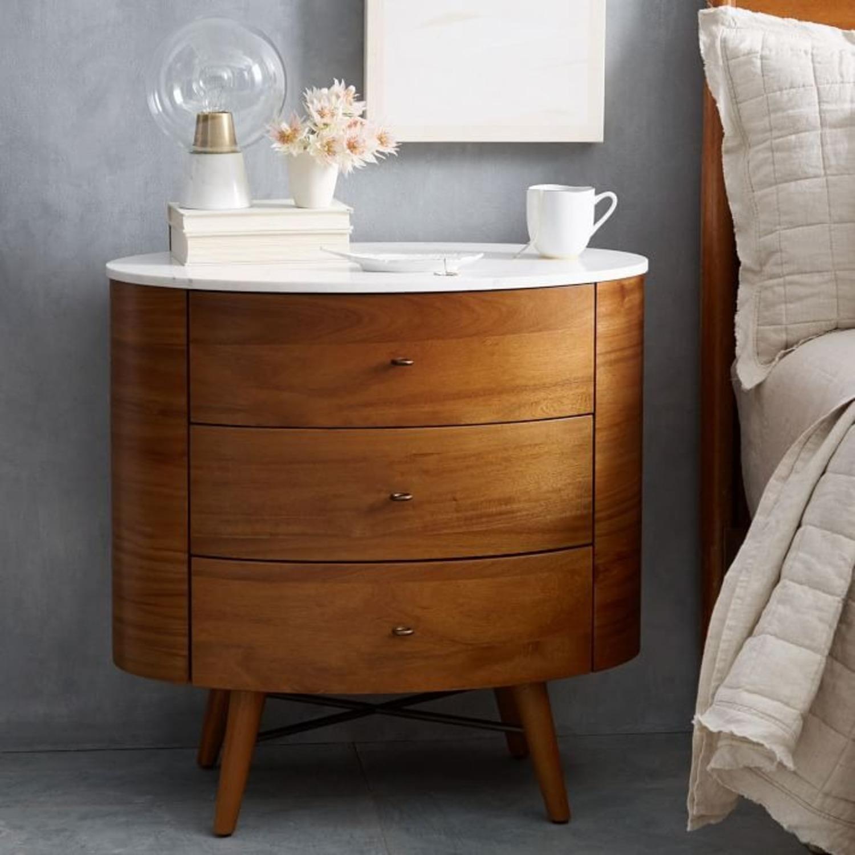 West Elm Penelope Nightstand, 3-Dresser - image-2