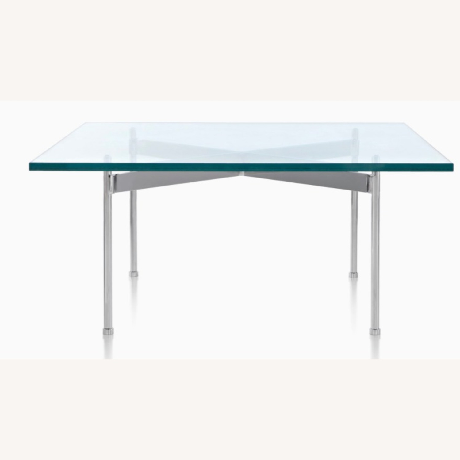 Ward Bennett Glass Top Claw Table - image-3