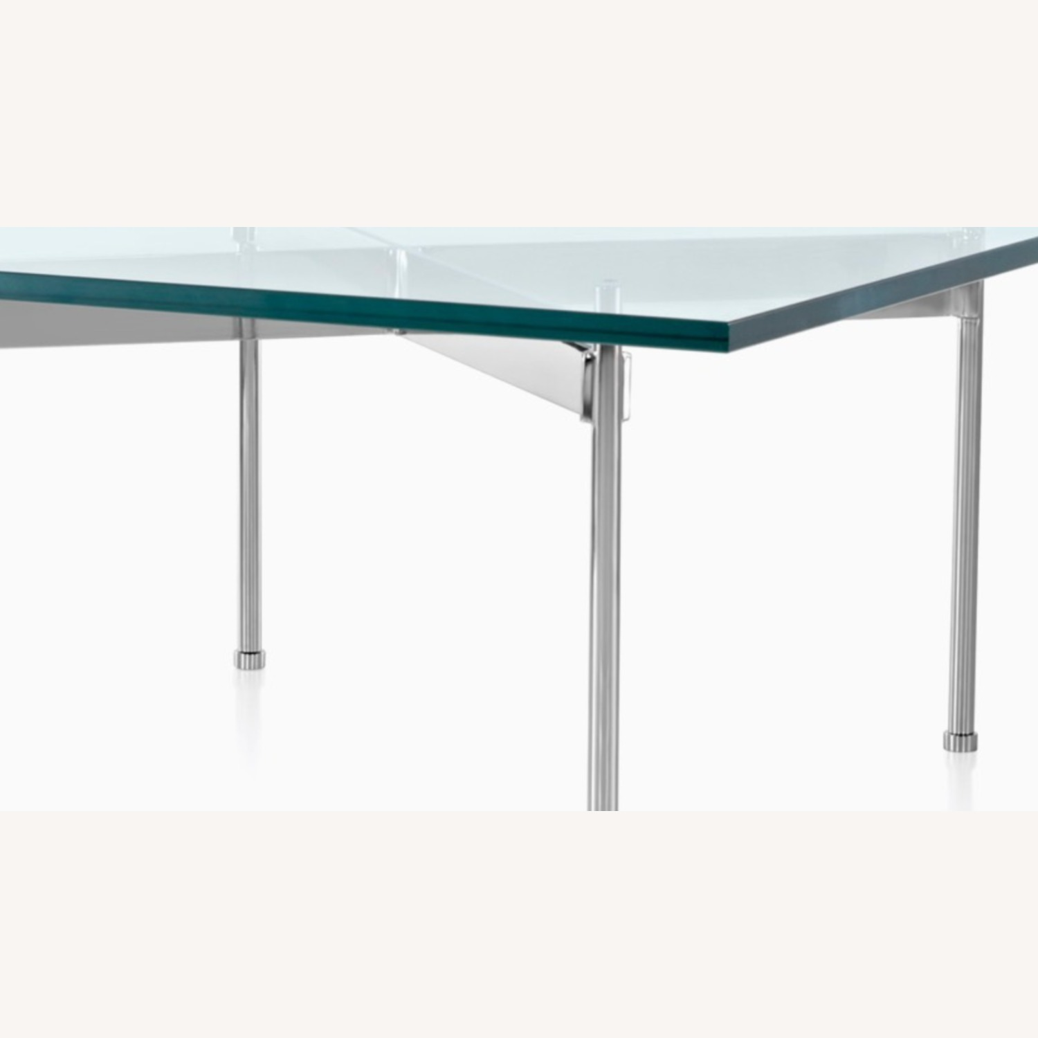 Ward Bennett Glass Top Claw Table - image-2