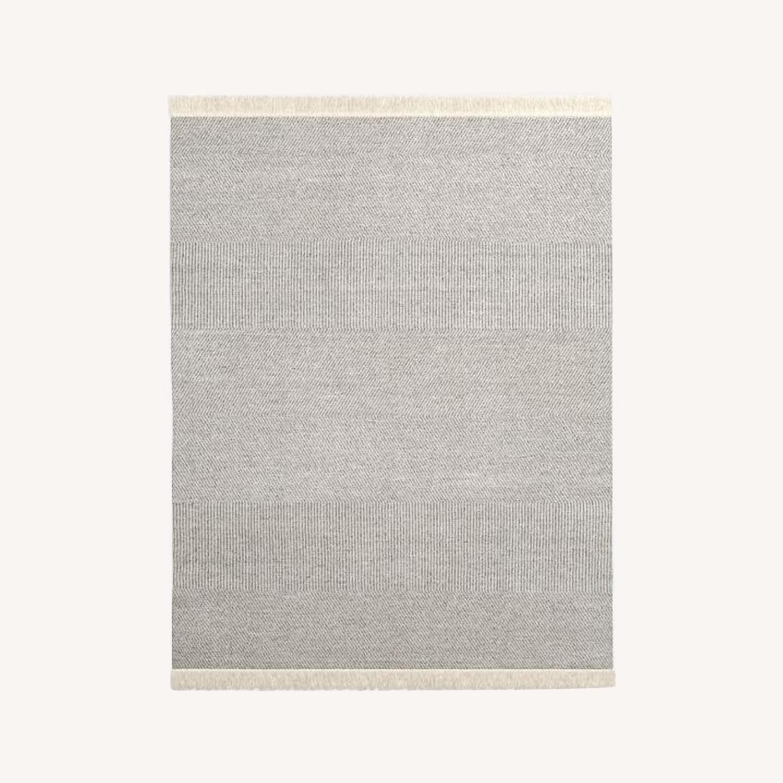 West Elm Tweed Flatweave Dhurrie, 8'x10' - image-0