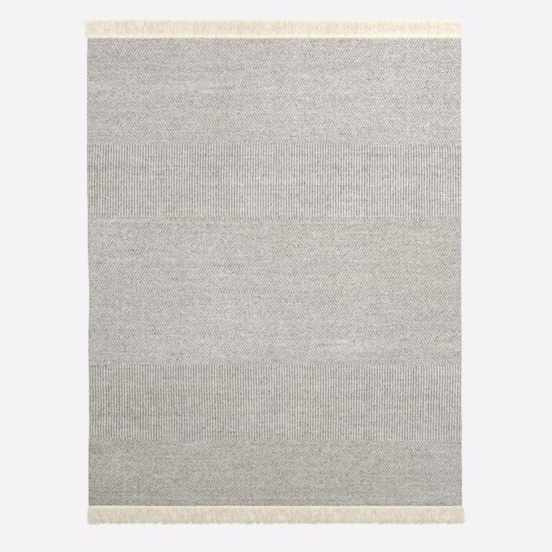 West Elm Tweed Flatweave Dhurrie, 8'x10' - image-1