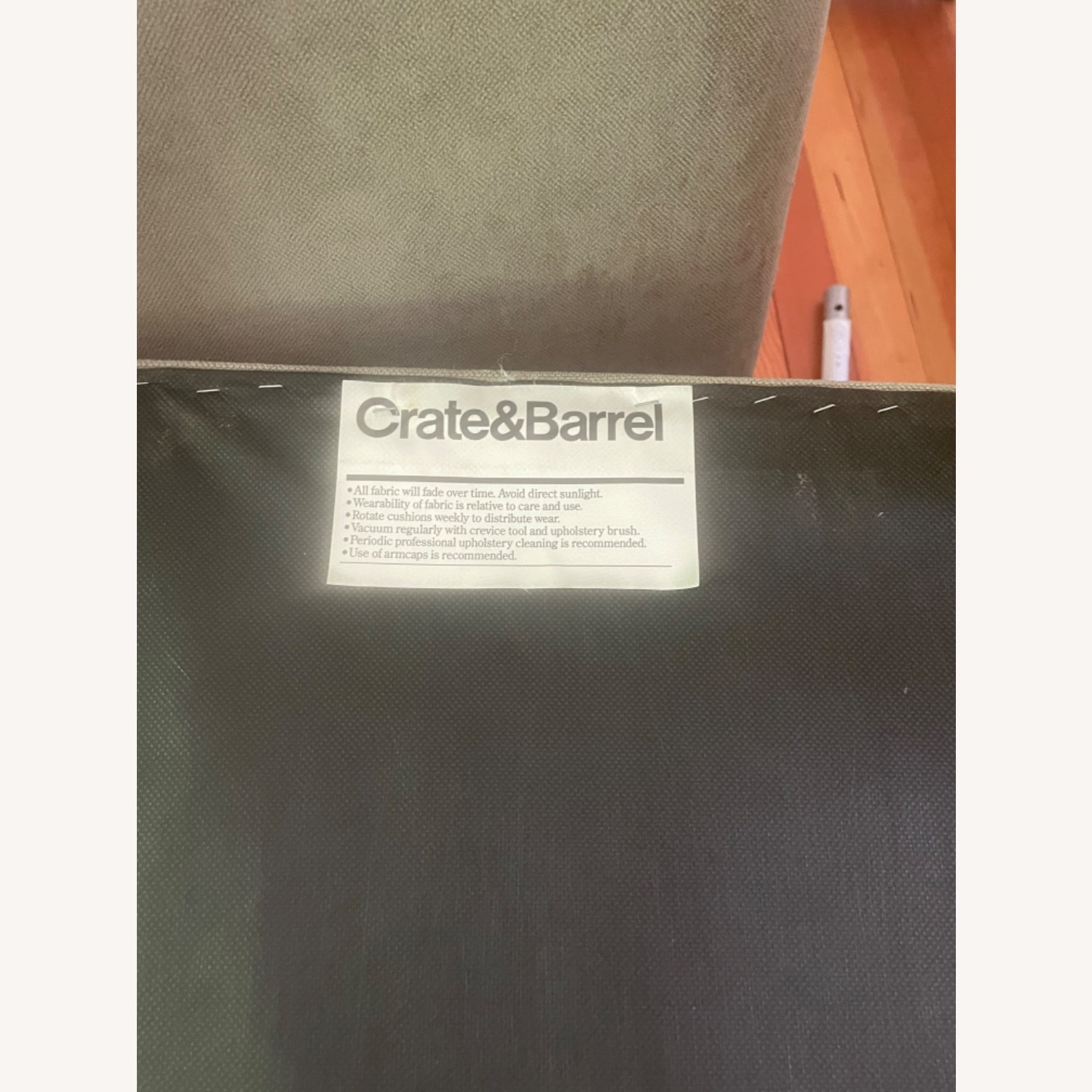 Crate & Barrel Dining Chairs (Set of 8) - image-5