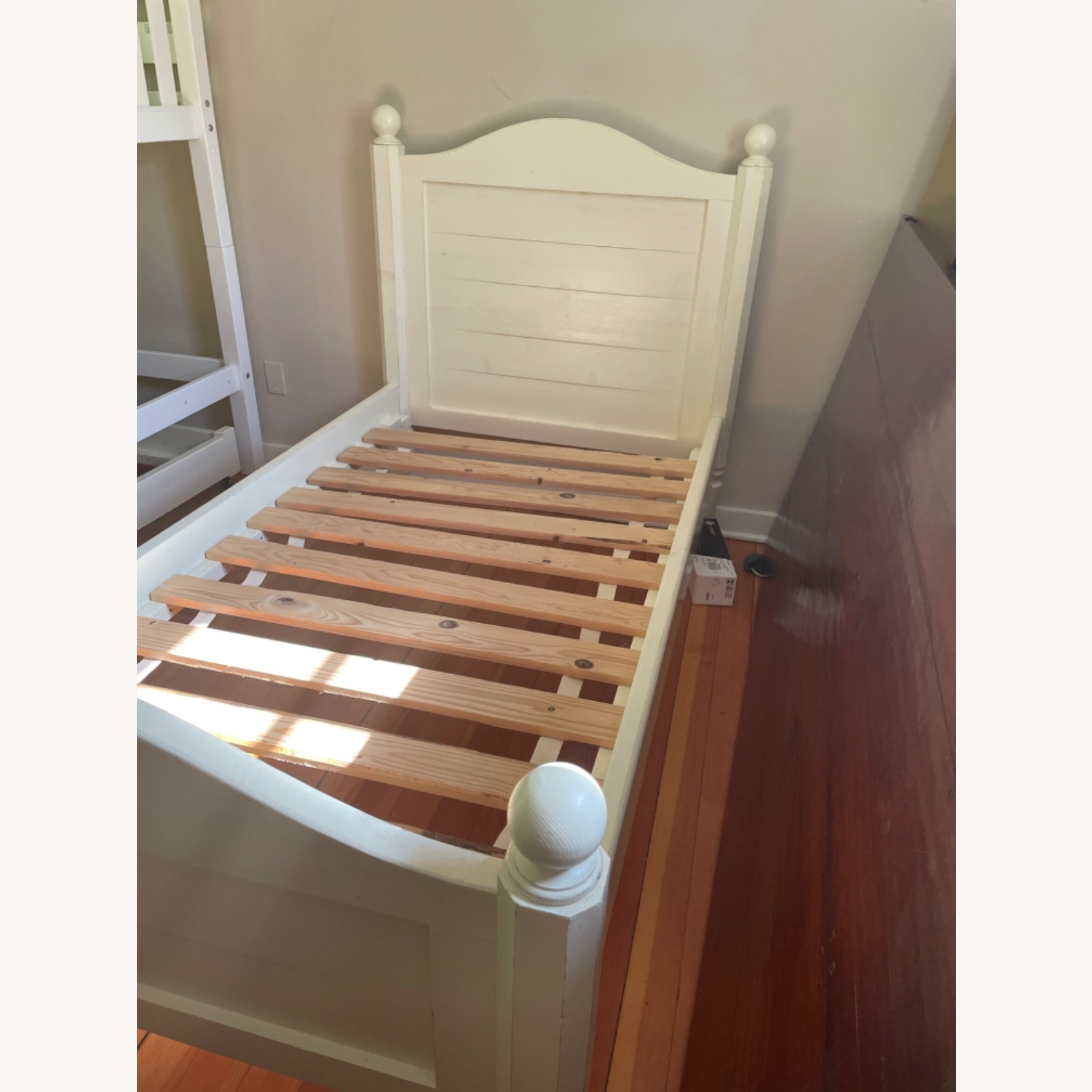 Land of Nod Twin bed with Trundle - image-1