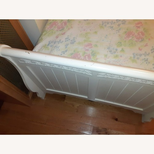 Used Ashely Furniture Twin Bed Frame for sale on AptDeco