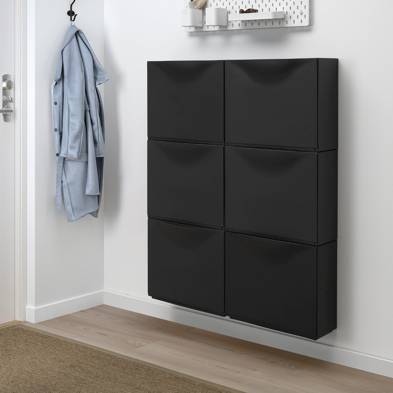 IKEA TRONES in Black (6 pack) - image-1