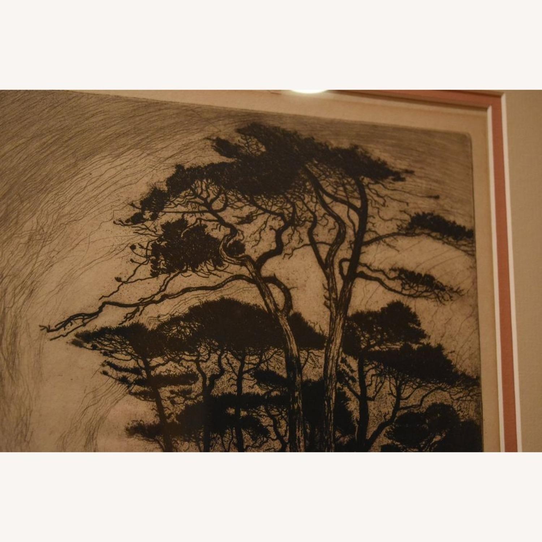"Original Nature Scene Print ""Evening in Pineland"" - image-3"