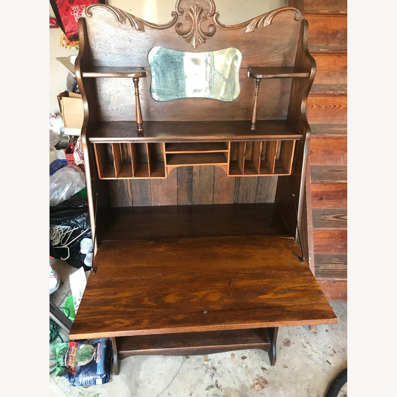 Antique Larkin Desk - image-2