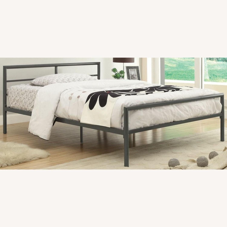 Full Bed In Rich Gunmetal Finish - image-1