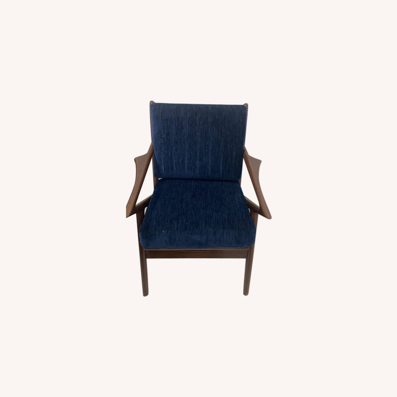 Joybird Soto Chair Bentley Indigo Chair - image-0