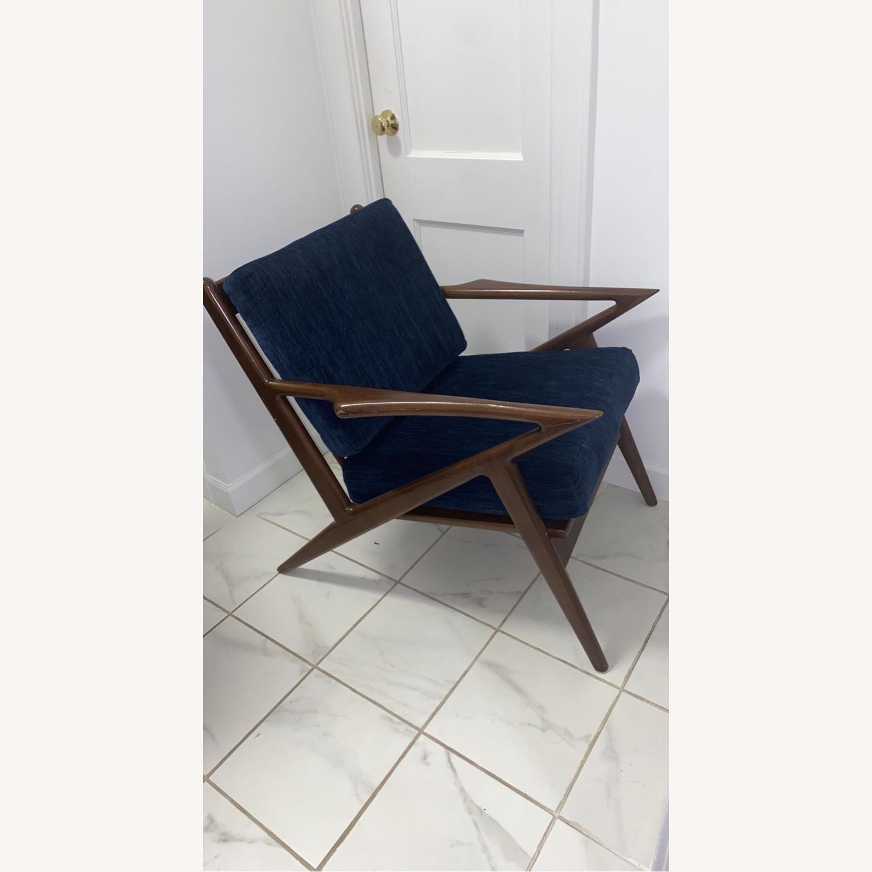 Joybird Soto Chair Bentley Indigo Chair - image-1