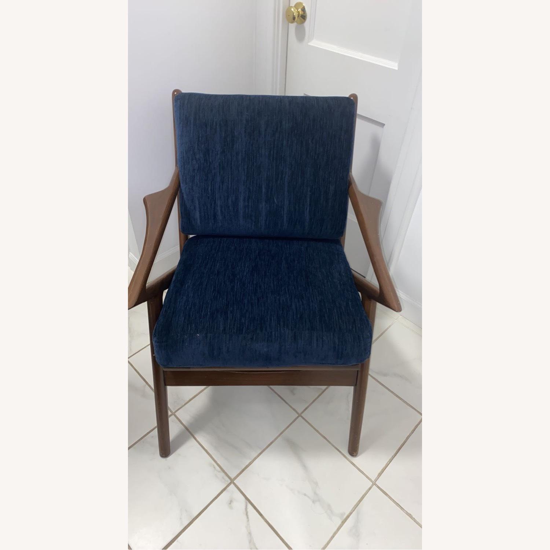 Joybird Soto Chair Bentley Indigo Chair - image-2