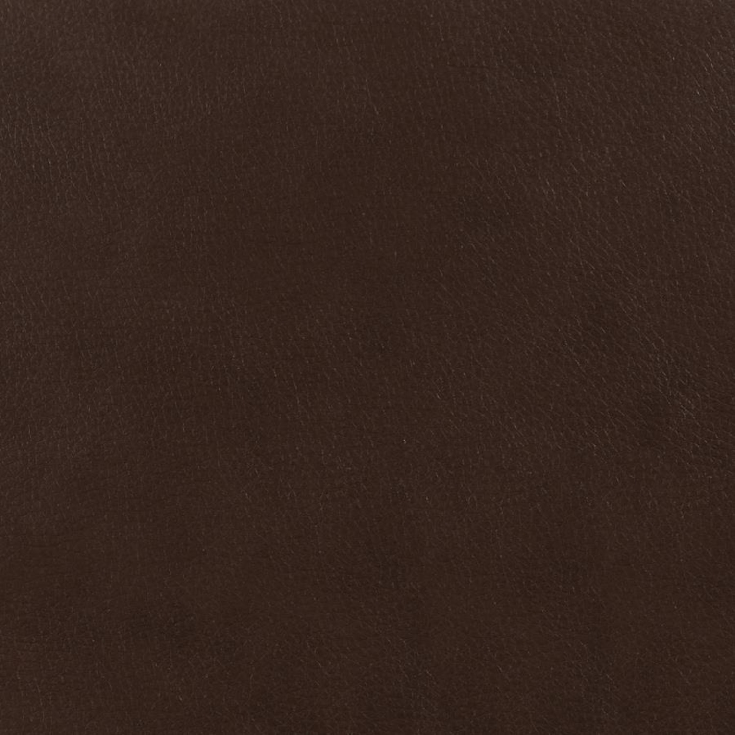 Ottoman In Brown Padded Breathable Leatherette - image-1