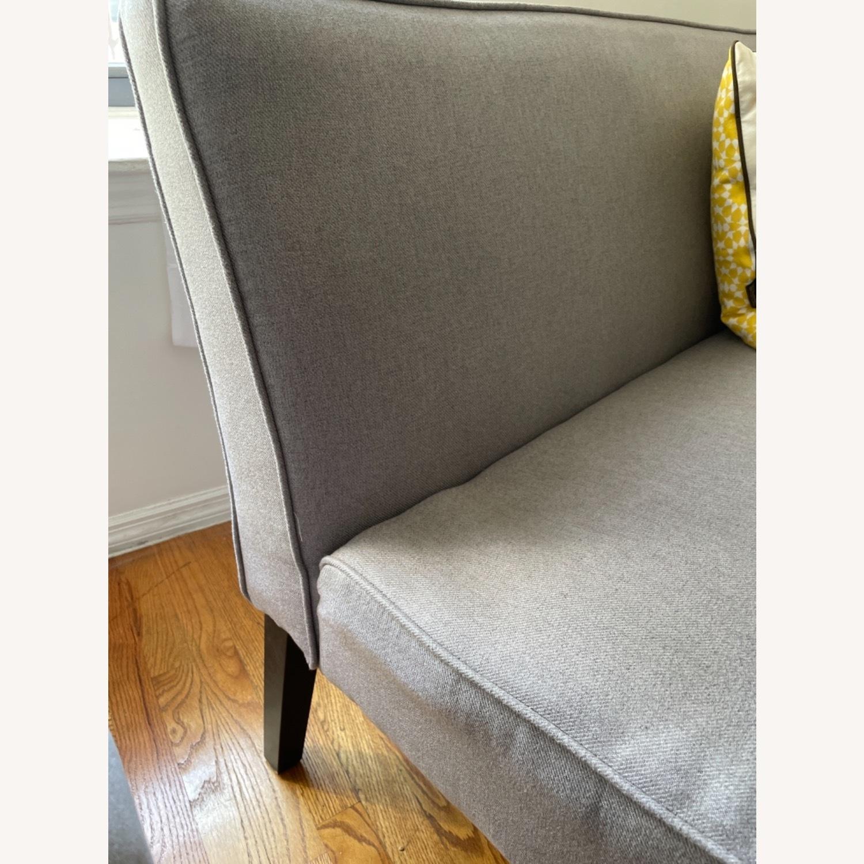 Wayfair Grey Fabric Couch - image-14
