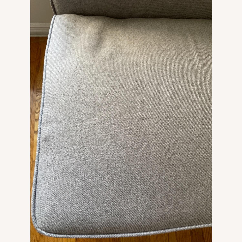 Wayfair Grey Fabric Couch - image-13