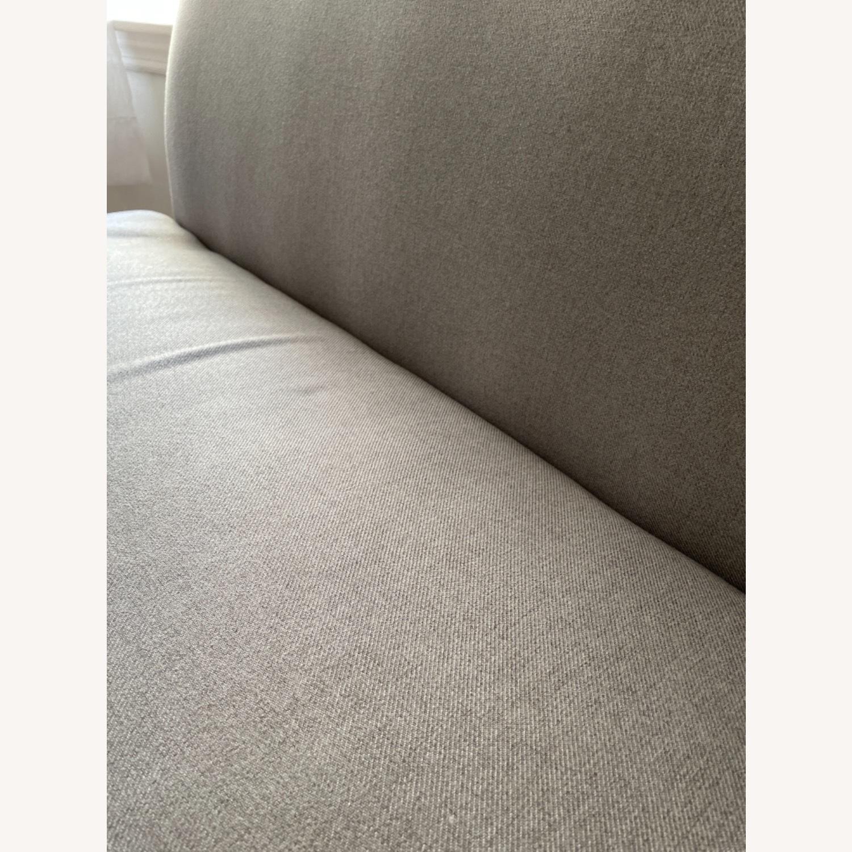 Wayfair Grey Fabric Couch - image-19
