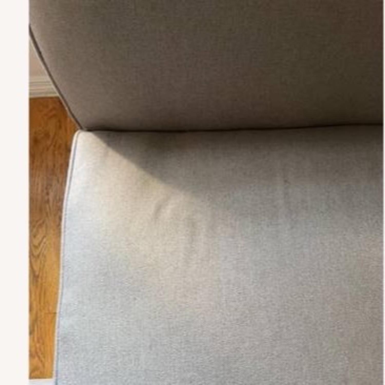 Wayfair Grey Fabric Couch - image-10